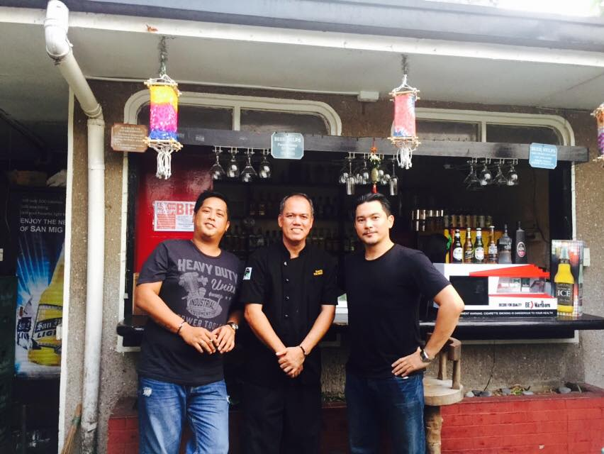 Vince Juanta, Chef Norbert and Eugene Claraval