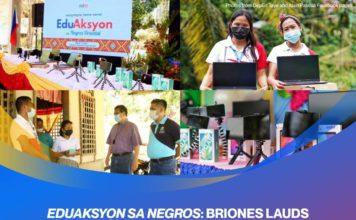 EduAksyon sa Negros: Briones lauds Negrenses'