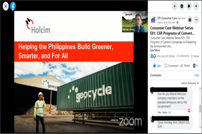 Holcim Philippines shares contributions to environment stewardship